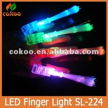 Laser Finger 100 pieces LED bright finger ring lights lamp as party supplies