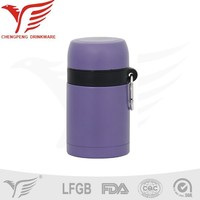 new products 600ml stainless steel vacuum thermal soup pot