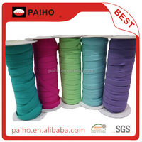 2015 colorful ultra Thin Fold Over Elastic