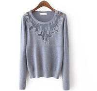 angora cashere girls tight sweater lace sexy womentransparent clothes