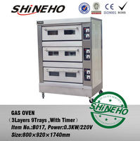 infrared food oven/industrial oven for cakes/gas baking bread oven