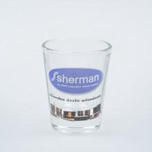2oz souvenir shot glass/custom gift crafts shot glass/ clear shot glass
