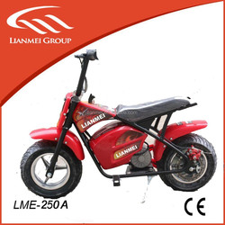 """250w mini electric motorcycle with 6.5"""" tire from China"""