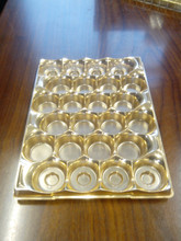 New designer plastic chocolate tray
