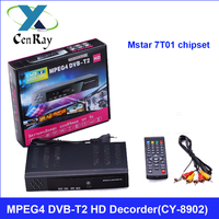 Best-Selling DVB-T2 Digital TV Tuner MPEG4 Free to Air Receiver Set Top Box (8902)