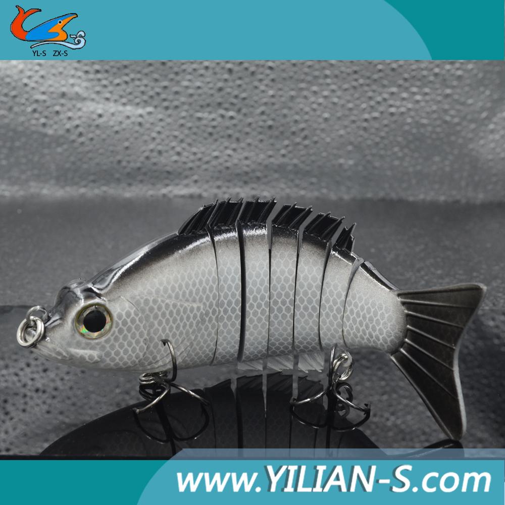 Multi jointed fishing lures hard swimbait fishing lure for Fishing lure making