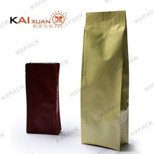 Hot deign aluminum foil stand up punching bag, self standing plastic snack packaging bag