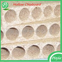 33/38mm Hollow Particle Chipboard/ Tubular Chipboard For Door Core Usage