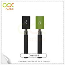 Color box packing on-line shopping ebay popular custome dual usb charger