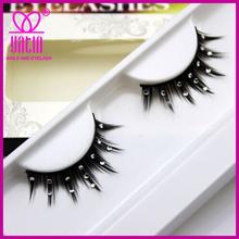 Hot sale Custom brand diamond false eyelashes/stage lashes
