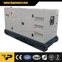 standby 100kw 125kva silent diesel generator set powered by cummins