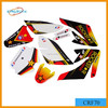 high quality hot sale pit bike CRF70 sticker design dirt bike stickers
