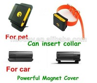 2015 Waterproof Mini GSM GPS tracker ipx-6 TK108 can insert Collar for dog pet car with powerful manget cover & Anti-theft Alarm
