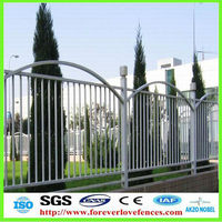 CE & ISO certificate decorative/ornamental steel fence (Anping factory, China)