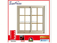 Double glazing Low E glazing solid wooden sliding closet door