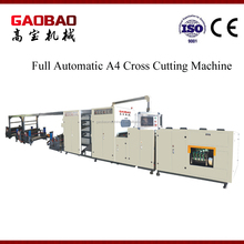High Quality Full Automatic A4 Paper Cutting Machine With Packaging Reliable Simple Maintenance