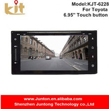 Multi language option portable dvd player low price with rear view camera option