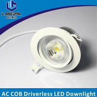 Langma Professional Adjustable surface mounted round dimmable 10W LED COB downlight CE,RoHS,LVD,EMC,SAA,FCC