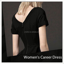 Promotional Ladies Fashionable Elegant Career Dress