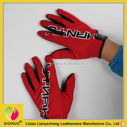 Populor Unisex Outdoor Sports cotton motorcycle driving gloves manufacturer