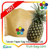 Taiwan factory high quality brown pineapple fruit paper bags