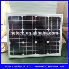 small size monocrystalline silicon 30w mini pv solar heat panel price