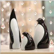 Happy Feet Ceramic penguin arts and crafts for home decoration