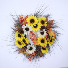 Decorated autumn small bulk artificial flowers