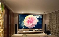 Perfect Home Theatre; PVC Fixed Frame Projector Screen; Customized for You