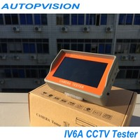 "Special 4.3"" AHD camera tester CCTV tester monitor AHD and analog camera testing UTP cable test 12V1A output"