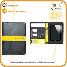 Promotional fashion pu portfolio case ipad tablet case for ipad