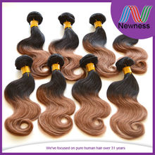 ombre color unprocessed 5a body wavy loose deep unprocessed women short hair styles pictures
