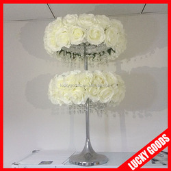 hot sale crystal chandelier wedding centerpiece