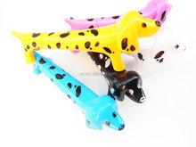 plastic lovely new design dog shaped promo pen cartoon ball pen