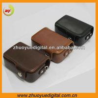 Custom photo camera bags low price unique digital camera bag leather supplier