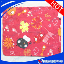solid color suede hot transfer printing microfiber sliver polishing cloth