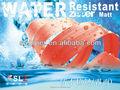 de alta calidad a prueba de agua bolsa de accesorios de cadena larga cremallera impermeable de nylon