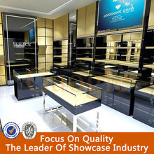 easy to assemble retail glass display cabinet jewelry shop interior design