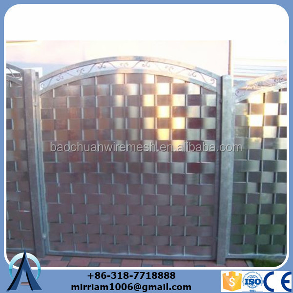 Beautiful double wire mesh fence with tarpulin.jpg