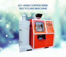 Bom desempenho de alta pureza de cobre tamanho pequeno cabo máquina de reciclagem