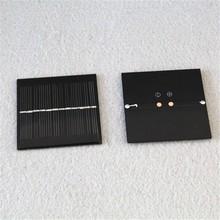 High effiency 0.5w epoxy resin small solar panel