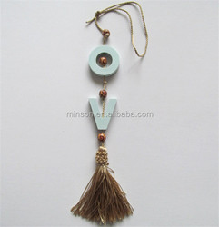 Cute Car Hanging With Tassel Aroma Stone,Fragrance Plaster,Scented Clay