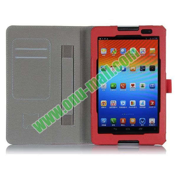 High Quality Flip Stand PU Leather Case Cover for Lenovo A5500