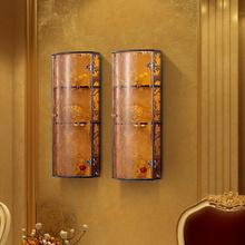 Handmade artificial wooden wardrobe hotel cabinet closet sliding doors