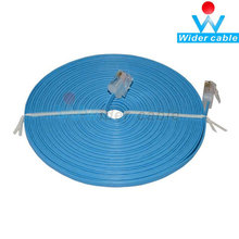 Networking Cat5e Flat Cable Ethernet Patch Cable For Internet (6 Feet, Blue)