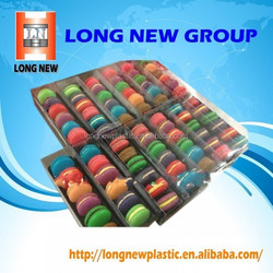 E Transparent Folding food packaging design plastic blister box