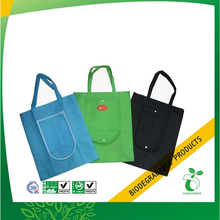 Eco Supermarket Foldable Shopping Bag, Folding Shopper Tote