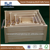 2014 new grade large storage wooden box packaging