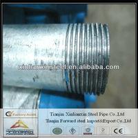 not easy deformation! galvanized round steel tube