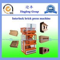 Yingfeng movable automatic cheap cement/concrete block making machine YF1-10